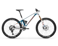 Image 1 for Mondraker SUPERFOXY CARBON R Super Enduro Bike (White/Petrol/Fox Orange) (S)