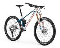 Image 3 for Mondraker SUPERFOXY CARBON R Super Enduro Bike (White/Petrol/Fox Orange) (M)