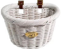 Nantucket Bike Basket Nantucket Cruiser Front Basket (White) (D-Shape)