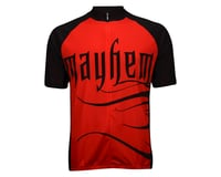 Image 2 for Nashbar Mayhem Cranium Jersey (Red/Black)