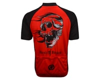 Image 3 for Nashbar Mayhem Cranium Jersey (Red/Black)