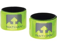 Nathan Reflex Reflective Snap Bands (Yellow) (Pair)