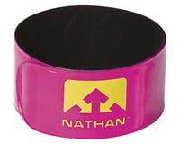 Nathan Reflex Reflective Snap Bands (Pink) (Pair)