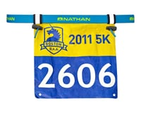 Nathan Race Number Belt: One Size Fits Most, Atomic Blue