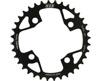 North Shore Billet Variable Tooth Chainring (Black) (94mm BCD) (36T)