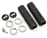 ODI Rogue Lock-On Grips (Black/Silver) (Bonus Pack)