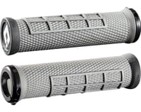 ODI Elite Flow Lock On Grips (Graphite w/ Black Clamps) | relatedproducts