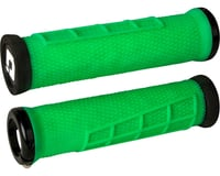 ODI Elite Flow Lock-On Grips (Retro Green w/ Black Clamps) | relatedproducts