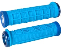 ODI Elite Pro Lock-On Grips (Light Blue w/ Blue Clamps) | relatedproducts