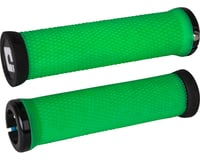 ODI Elite Motion Lock-On Grips (Retro Green w/ Black Clamps) | relatedproducts