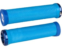ODI Elite Motion Lock-On Grips (Light Blue w/ Blue Clamps) | relatedproducts