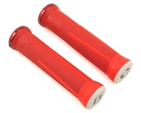 ODI AG-1 Aaron Gwin V2.1 Lock-On Grips (Red/Fire Red) (135mm)