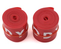 "Odyssey Rim Strip (Red) (24"") (Pair)"