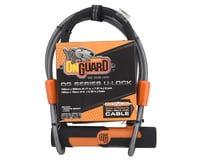 Onguard U-Lock w/ Security Cable (Orange)