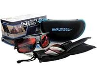 Image 4 for Optic Nerve Vettron Sunglasses (Matte Black) (Smoke Ice Blue Mirror Lens)