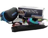 Image 4 for Optic Nerve Maxxum Sunglasses (Matte Black/Carbon) (Smoke/Silver Flash Lens)