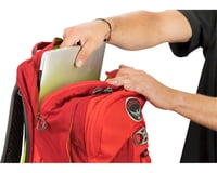Image 5 for Osprey Radial 26 Commuter Backpack (Lava Red) (S/M)