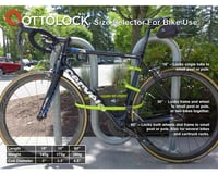 "Image 4 for Otto Design Works Ottolock Cinch Lock (Stealth Black) (18"")"