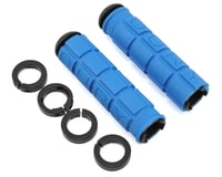 Oury Lock-On MTB Grips (Blue)