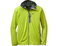 Outdoor Research Centrifuge Men's Hooded Jacket (Lemongrass Yellow/Pewter Gray)