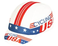 Pace Sportswear Coolmax Cycling USA Cap (Red/White/Blue)