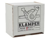 Image 4 for Paul Components Klamper Short Pull Disc Brake Caliper (Black/Orange)