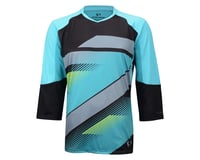 Image 3 for Pearl Izumi Launch  Sleeve Jersey (Black / Green)