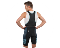 Image 3 for Pearl Izumi Select LTD Bib Short (Arctic/Mid Navy Tidal) (S)