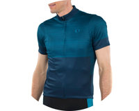 Image 4 for Pearl Izumi Select LTD Jersey (Navy/Teal stripes) (M)