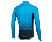 Image 2 for Pearl Izumi Elite Pursuit Thermal Graphic Jersey (Atomic Blue Diffuse) (XL)