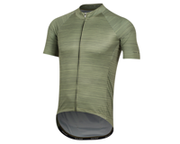 Image 1 for Pearl Izumi Elite Pursuit Graphic Short Sleeve Jersey (Willow/Forest Stripe) (S)