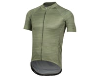 Image 1 for Pearl Izumi Elite Pursuit Graphic Short Sleeve Jersey (Willow/Forest Stripe) (XS)