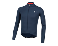 Image 1 for Pearl Izumi Select Pursuit Long Sleeve Jersey (Navy) (S)