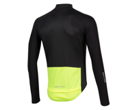 Image 2 for Pearl Izumi PRO Pursuit Long Sleeve Wind Jersey (Black/Screaming Yellow) (M)
