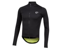 Image 1 for Pearl Izumi PRO Pursuit Long Sleeve Wind Jersey (Black/Screaming Yellow) (XL)
