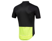 Image 2 for Pearl Izumi PRO Pursuit Wind Jersey (Black/Screaming Yellow) (L)