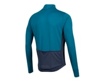 Image 2 for Pearl Izumi Quest Thermal Jersey (Teal/Navy) (2XL)