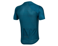 Image 2 for Pearl Izumi Men's PRO Mesh Jersey (Teal/Navy Stripe) (2XL)