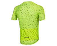 Image 2 for Pearl Izumi Men's PRO Mesh Jersey (Screaming Yellow/Navy Paisley) (S)