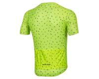 Image 2 for Pearl Izumi Men's PRO Mesh Jersey (Screaming Yellow/Navy Paisley) (XL)