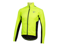 Image 1 for Pearl Izumi Elite Pursuit Hybrid Jacket (Screaming Yellow/Black) (M)