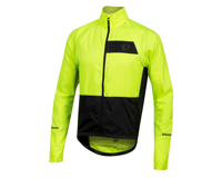 Image 1 for Pearl Izumi Elite Escape Convertible Jacket (Screaming Yellow/Black) (S)
