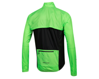 Image 2 for Pearl Izumi Elite Escape Convertible Jacket (Screaming Green/Black) (XL)