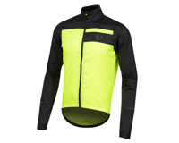Image 1 for Pearl Izumi Elite Escape Barrier Jacket (Black/Screaming Yellow) (M)