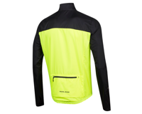 Image 2 for Pearl Izumi Elite Escape Barrier Jacket (Black/Screaming Yellow) (S)