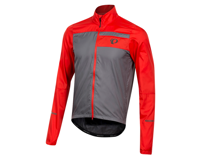 Image 1 for Pearl Izumi Elite Escape Barrier Jacket (Torch Red/Smoke Pearl) (M)