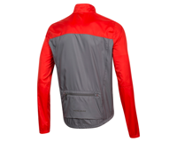 Image 2 for Pearl Izumi Elite Escape Barrier Jacket (Torch Red/Smoke Pearl) (M)