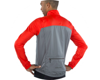 Image 3 for Pearl Izumi Elite Escape Barrier Jacket (Torch Red/Smoke Pearl) (S)