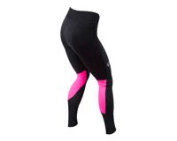 Pearl Izumi Women's Elite Escape Amfib Tight (Black/Screaming Pink) (L)