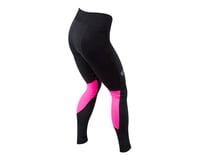 Image 2 for Pearl Izumi Women's Elite Escape AmFIB Tight (Black/Screaming Pink) (S)